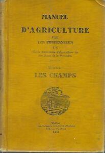Manuel d'agriculture / Les champs.