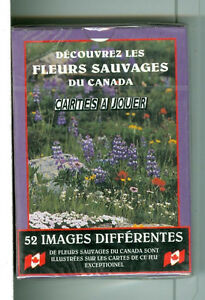 "Deck ""Canadian WildFlowers"" Playing Cards, Sea to Sky Photos Kitchener / Waterloo Kitchener Area image 2"