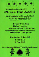 St. Patrick's Church Chase the Ace