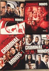 Criminals Minds - Seasons 2, 3, 4 & 5