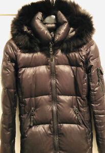 Women's down coat.