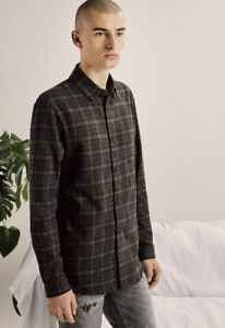 John Elliott Flannel Button Up - 3/L