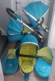 ICANDY PEACH DOUBLE, TRAVEL SYSTEM.
