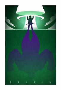 "Hulk - Marvel MCU - art print ""The Other Guy"""
