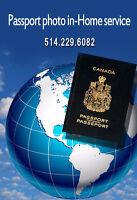 Passport photo in-home service