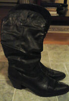 womans slouch cowboy boot