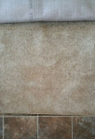 6 X 9 Rug beige hardly used