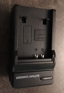 Li-50B battery charger for cameras