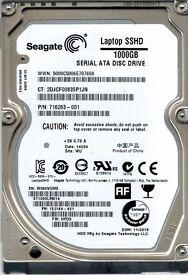 "BRAND NEW 1TB Seagate Laptop SSHD Internal 2.5"" 5400rpm Laptop Harddrive HDD (ST1000LM014)"