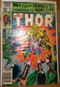 The Mighty Thor Marvel Comics Books 1982 1983 1984