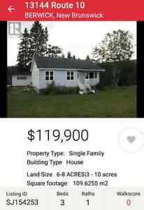 House Outside Sussex $119900