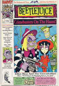 Beetlejuice Comics:Crimebusters on the Haunt and Holiday Special