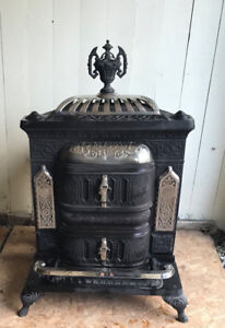 Charles fawcett wood burning stove