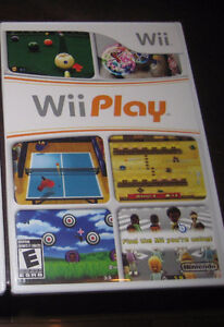 Wii Play game / Jeux pour Wii - Wii Play