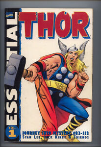 THE MIGHTY THOR VOL. 1 ESSENTIAL  B/W REPRINTS  FIRST PRINTING