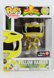 Wanted - Funko Pop *Power Ranger Yellow Metallic *EB Exclusive