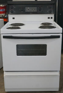 3 reconditioned and CLEAN Stoves. Choose the one you like best