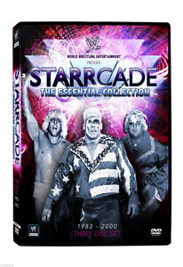 DVD WWE STARRCADE WRESTLING COLLECTION 3 DISC 1983-2000