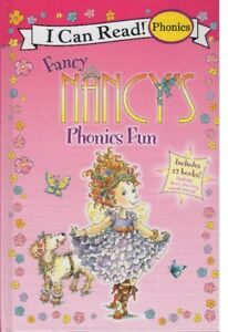 FANCY NANCY'S PHONICS FUN TREASURY - INCLUDES 12 BOOKS