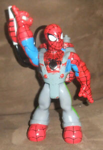 Spiderman w Back Pack Gear Fisher Price Rescue Heros