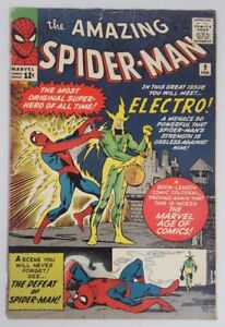 Amazing spiderman #9 the 1st apperance of Electro