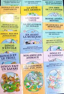 23 titres: série LE TOUR DU MONDE AVEC DISNEY Grolier