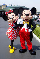 MICKEY AND MINNIE COSTUMES