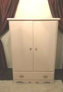 SPACIOUS Light Pink Armoire/Cabinet for sale  I DELIVER
