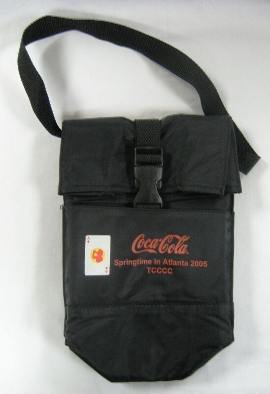 Coca Cola Insulated Lunch & Bottle Bag # 2 - New from 2005