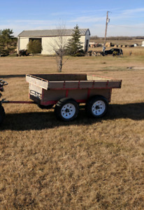 6 foot walking beam trailer