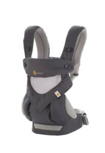 Ergo 360 cool air with cool mesh infant insert - VGUC