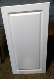 Kitchen Cupboard Doors - 9 - white includes Hinges