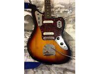 Fender Squire modified Jaguar
