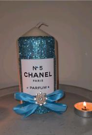 Decorative Designer Pillar Candle