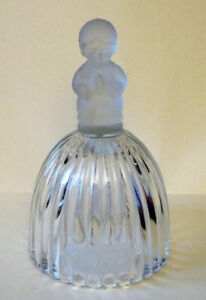 Vintage, Goebel Annual Glass Bell, 1978 ~ Crystal Clapper