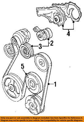 Cadillac GM OEM 92-93 DeVille-Serpentine Drive Belt Idler Pulley 1627264