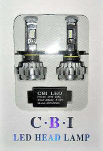 2X 9006/HB4 80W 6000K 8000LM  LED LUMILED  PHILIPS CANBUS
