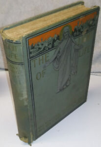 1899 The LIGHT of LIFE ANTIQUE Book of God JESUS