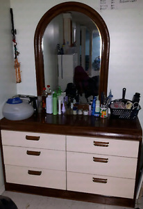 Dresser, night stand & side table