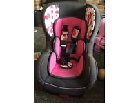 Isofix car seat 9-18kg