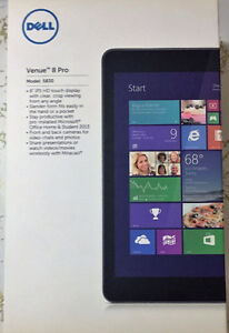 DELL Venue 8 Pro Windows 10 Tablet