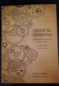 Critical Thinking: An Introduction to the Basic - UTM PHL145