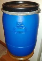 50 or 53 litre Storage Camping Canoe Barrel - Two Models