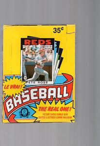 boite de cartes de baseball 1986 o-pee-chee  pete rose