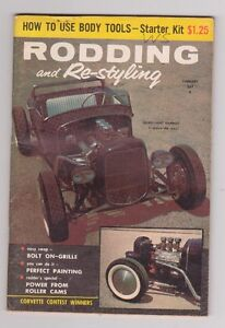 18 issues of Rodding and Restyling 1950's