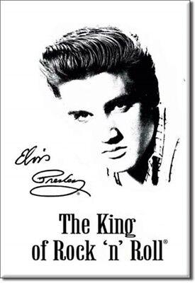 Elvis Presley The King Of Roca 'N' Rollo Imán de Nevera (De)