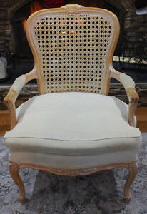 Beautiful Queen Anne Cane Back Chair Windsor Region Ontario image 3