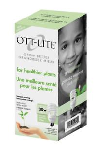 OttLite Grow bulbs 20watt x's 2
