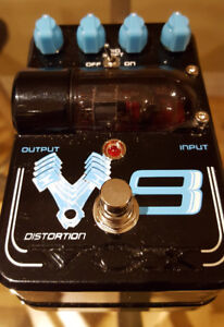 Vox V8 - tube overdrive / distortion pedal