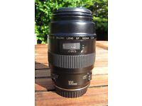 Canon EF 100mm f2.8 Macro lens REDUCED